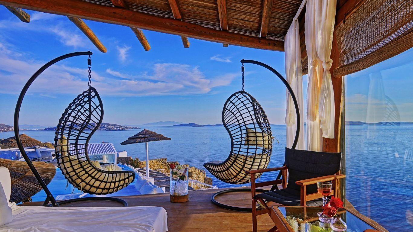 Villa Sara, Houlakia, Mykonos, Greece