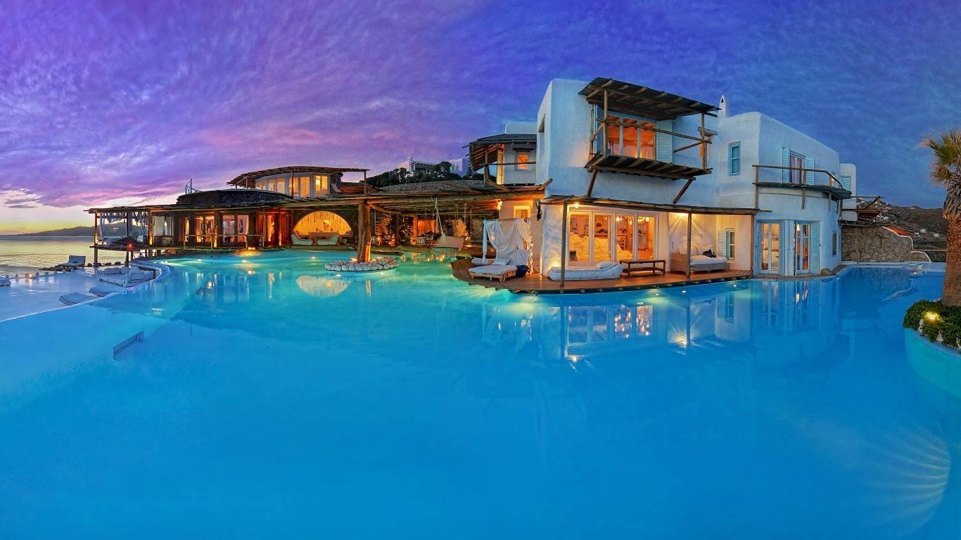 Best Island Beaches For Partying Mykonos St Barts: Mykonos Luxury Villa Rentals & Vacation Homes