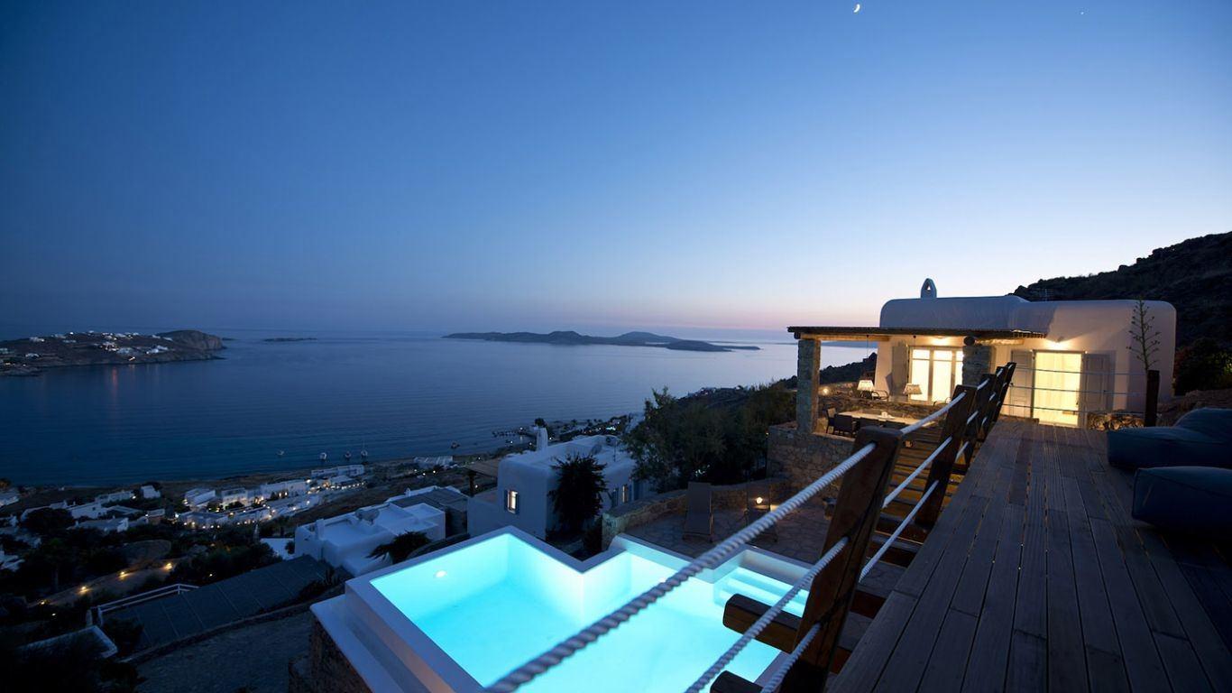 Villa Deepika, Ornos, Mykonos, Greece