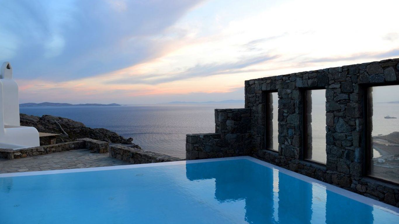 Villa Molly, Houlakia, Mykonos, Greece
