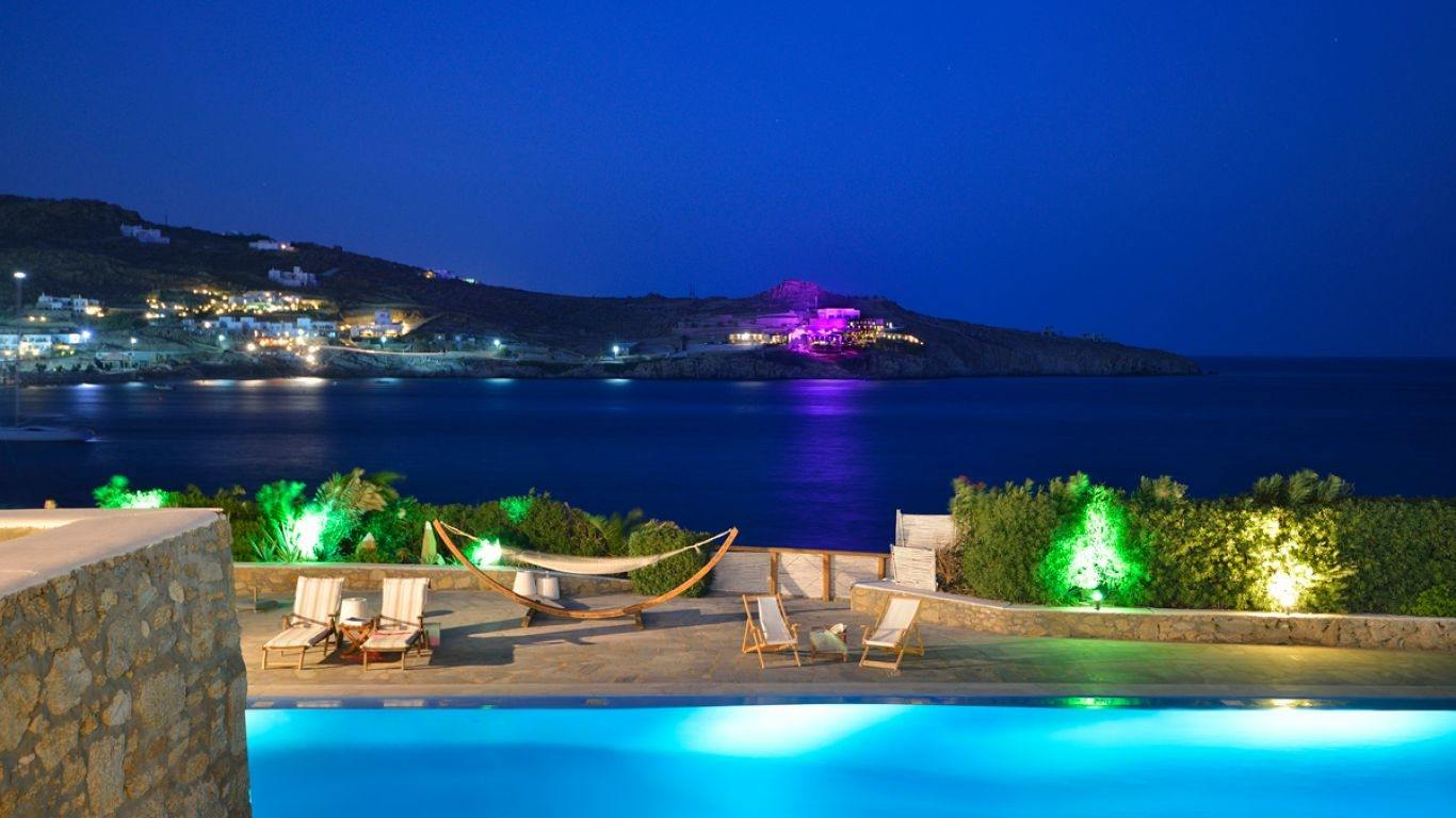 Villa Faith, Paradise Beach, Mykonos, Greece