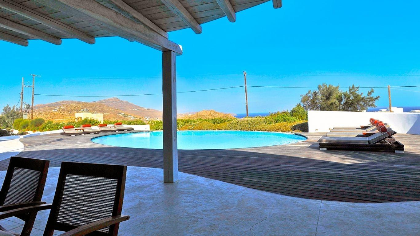 Villa Julia, Kalafatis, Mykonos, Greece