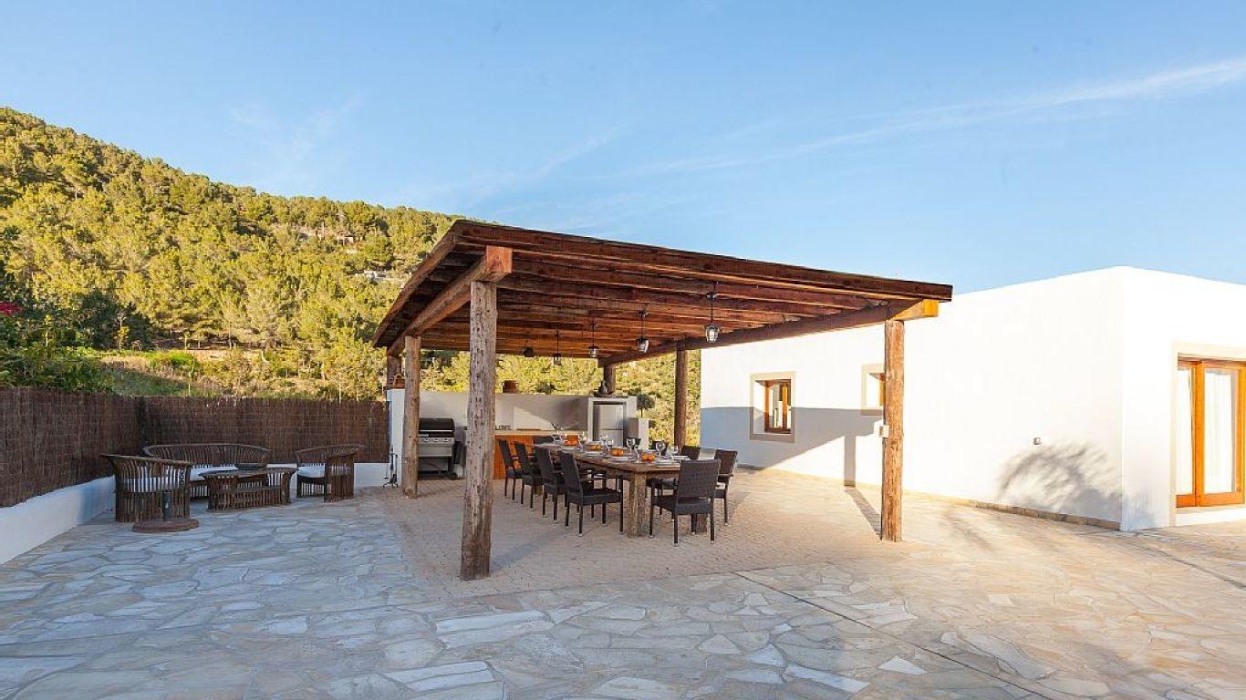 Villa Blythe , Santa Gertrudis, Ibiza, Spain