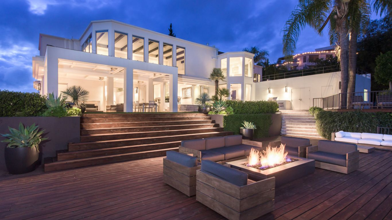 Los angeles luxury villa rentals vacation homes