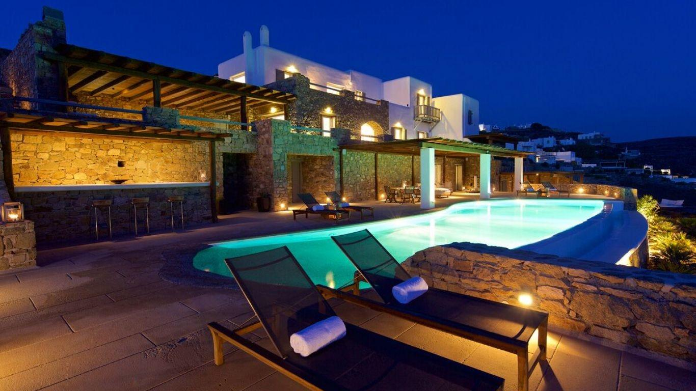 Villa Jane, Fanari, Mykonos, Greece