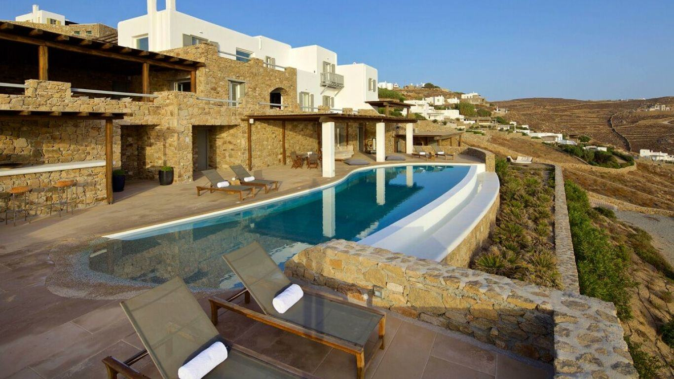Villa Jane, Fanari, Mykonos, Greece