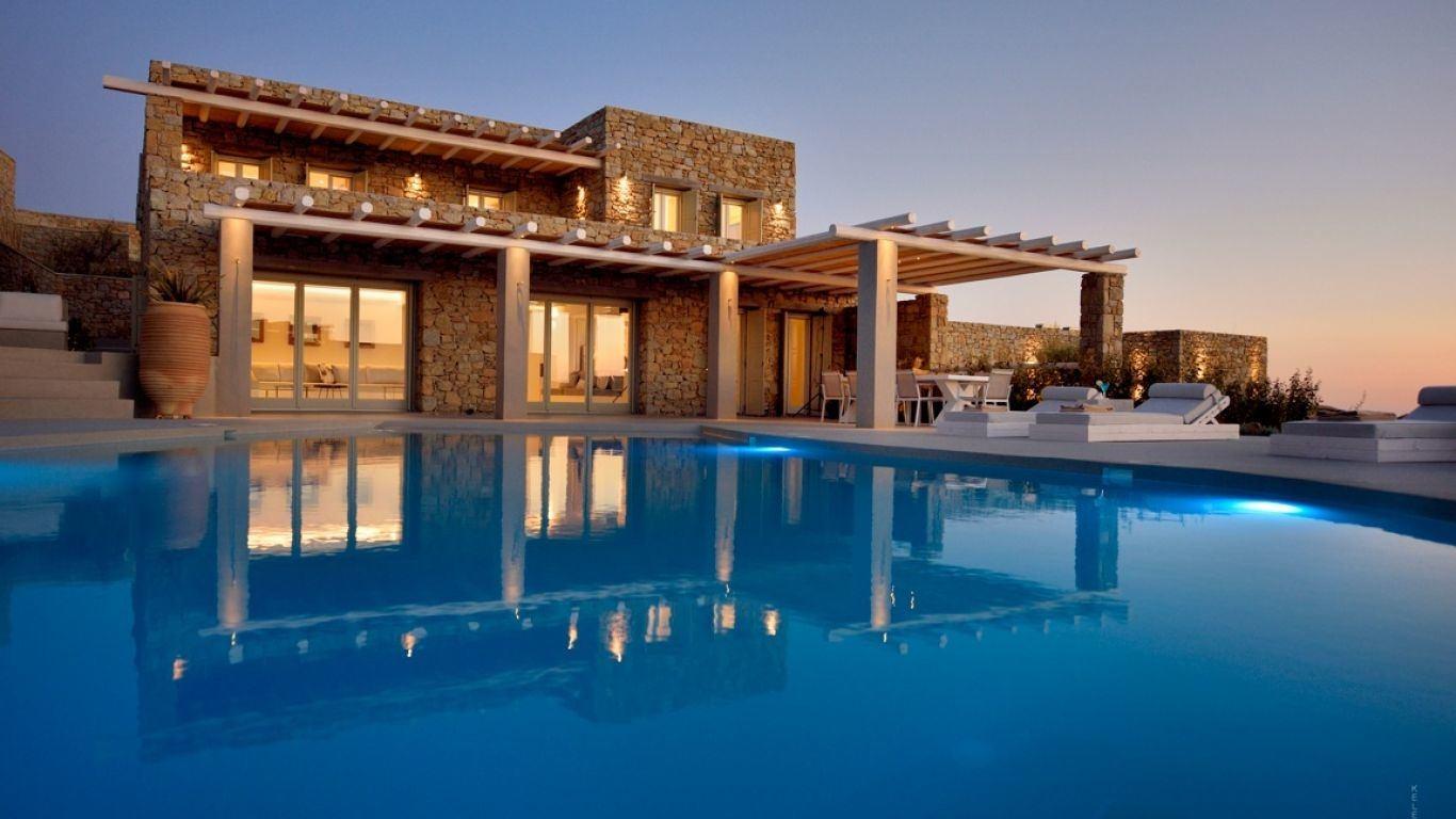 Villa Danielle, Kounoupas, Mykonos, Greece