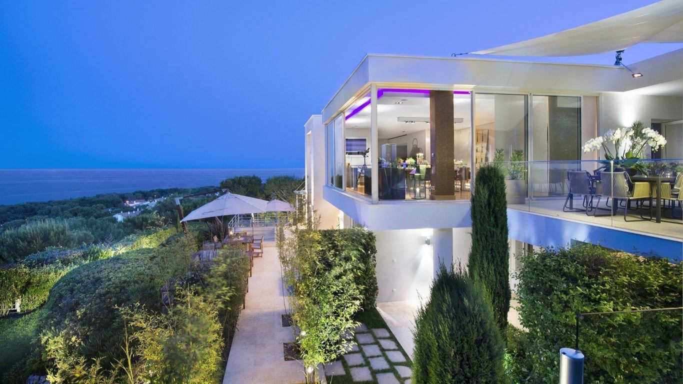 Villa Caela, Saint-Jean-Cap-Ferrat, Monaco, France