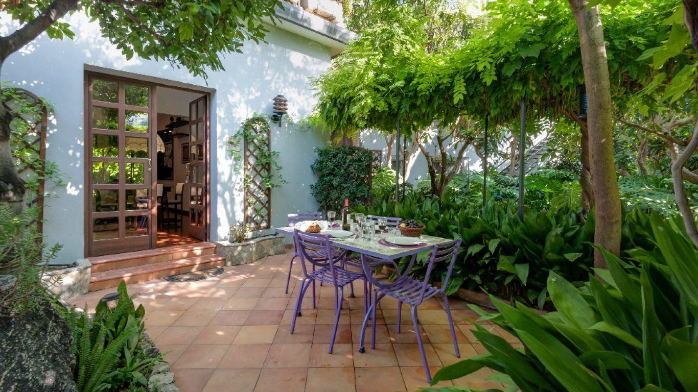 Villa Augusta, Palermo, Sicily, Italy