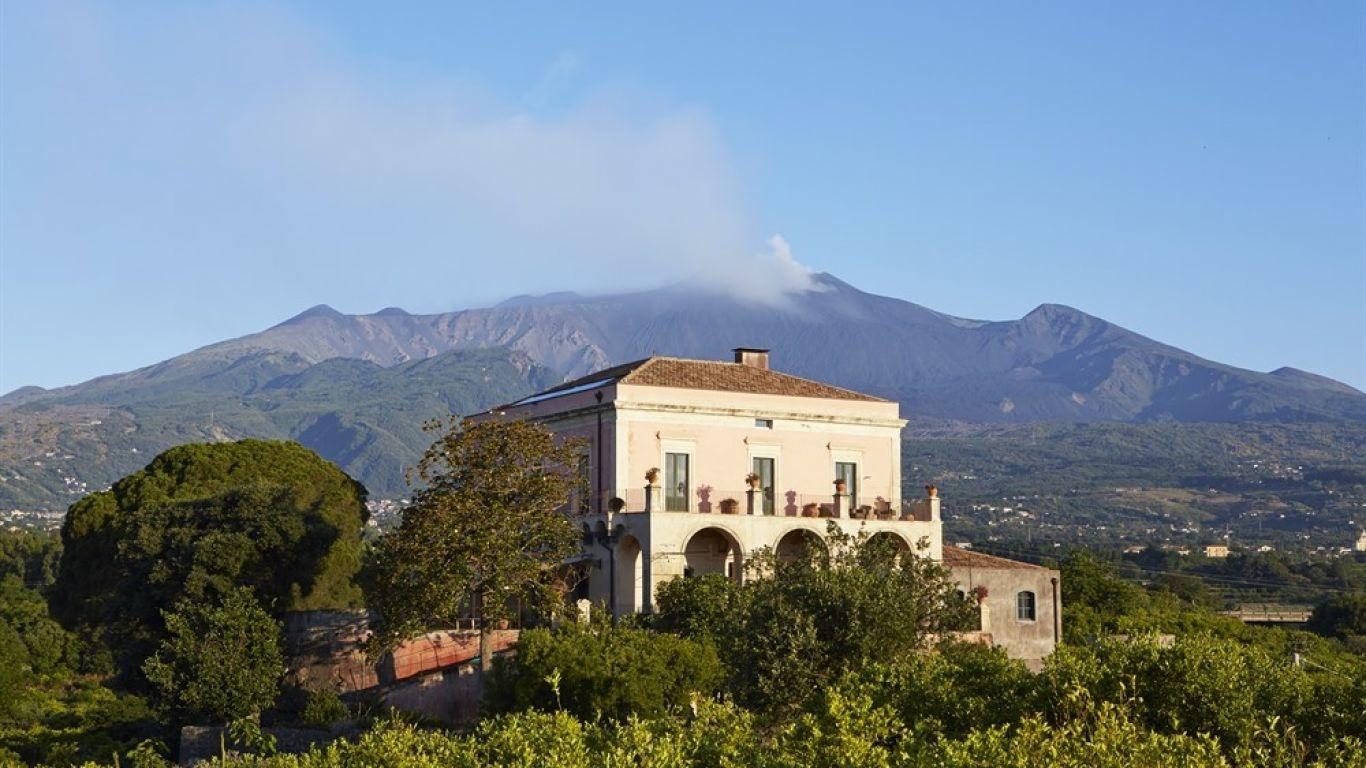 Villa Emma, Santa Venerina, Sicily, Italy