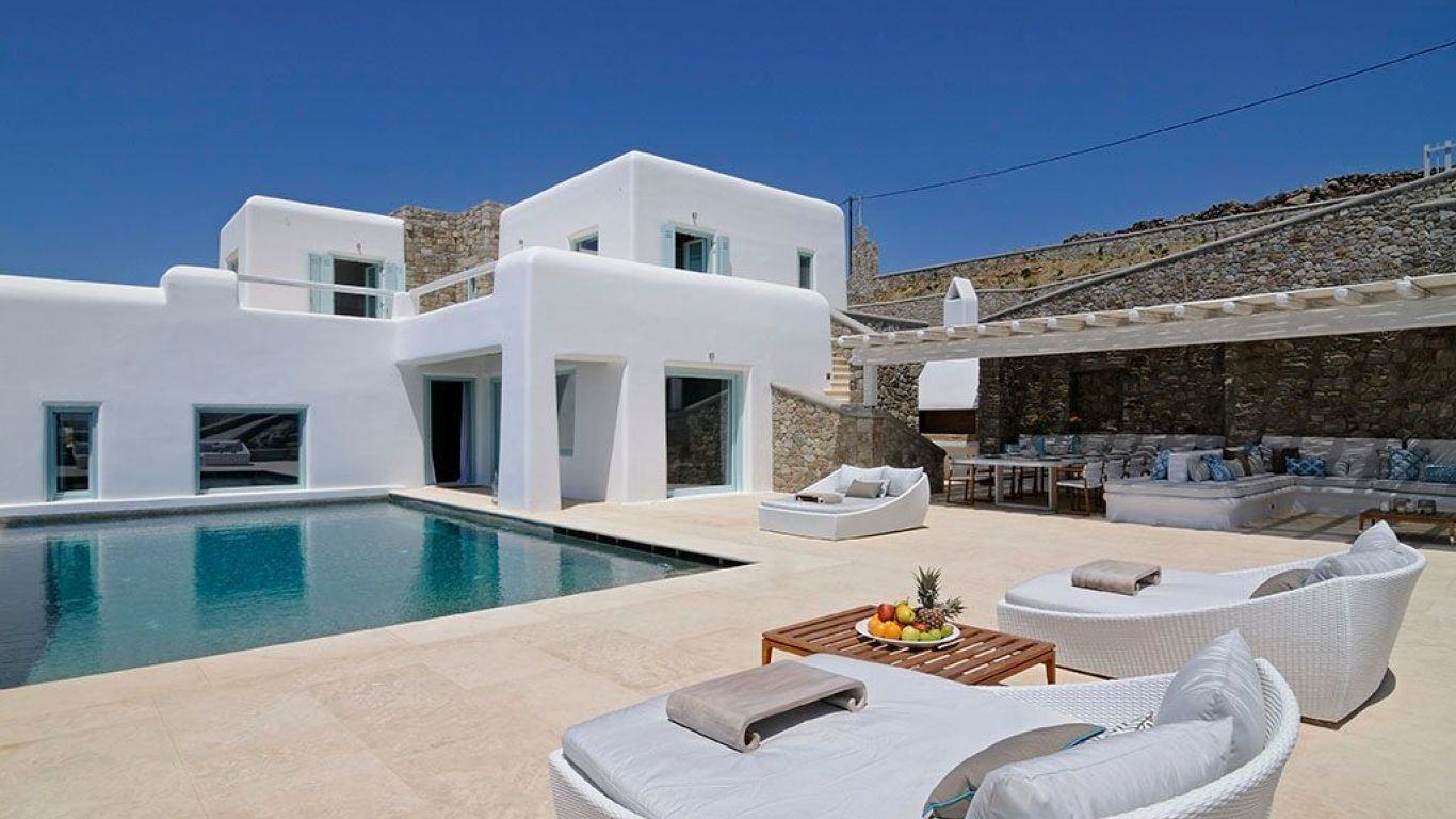 Villa Eve, Pouli, Mykonos, Greece