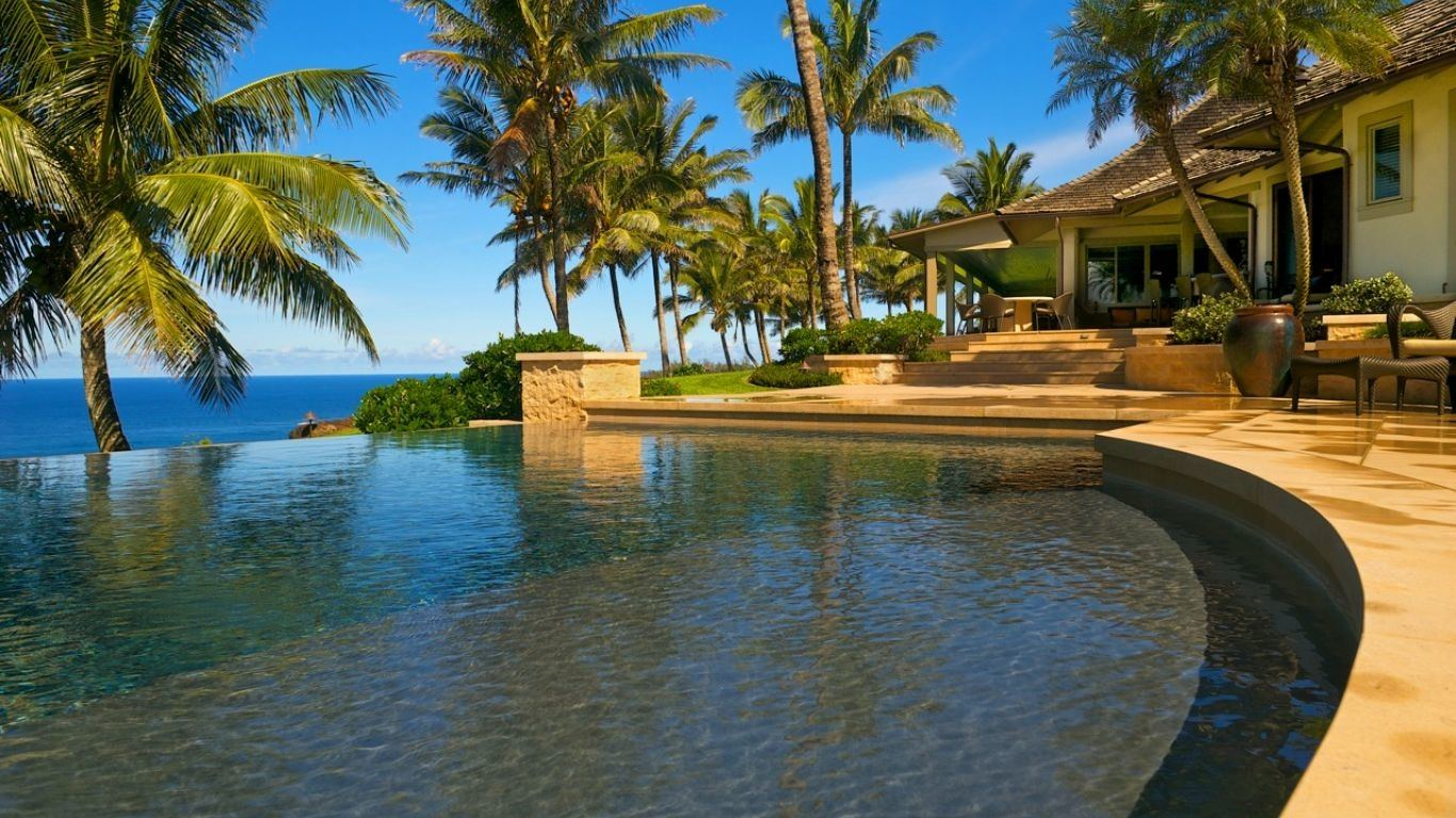 Villa Paloma, North Shore, Kauai, USA