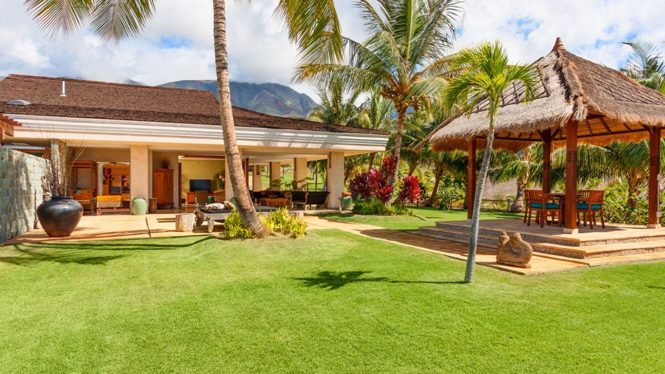 Villa Willow, Lahaina, Maui, USA
