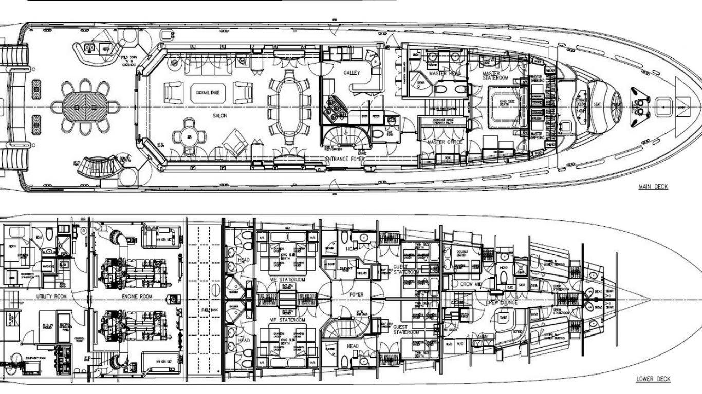 Yacht Far Niente 130, Yachts, Yachts, France