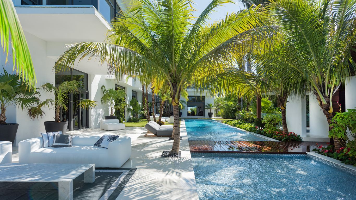 Villa Abigal, Bayshore, Miami, USA