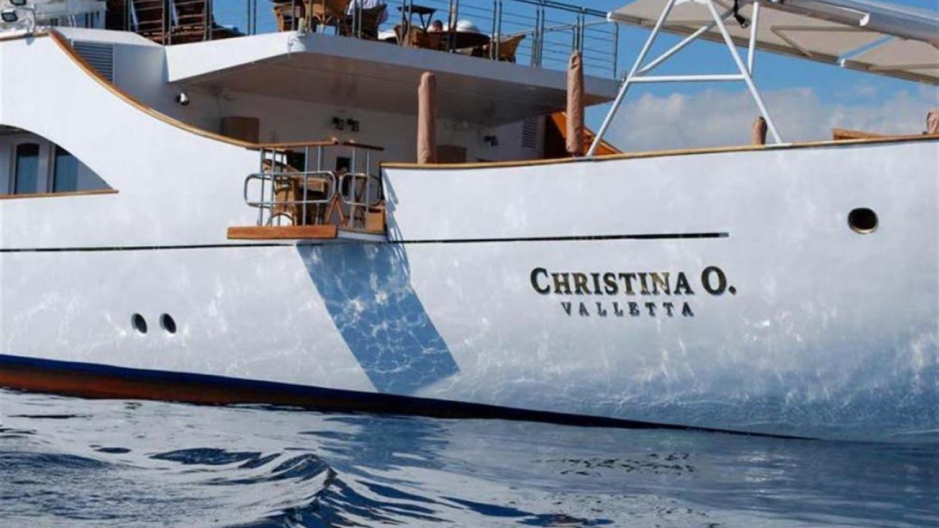 Yacht Christina O 325, Yachts, Yachts, France