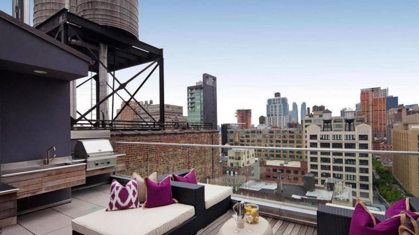 Penthouse Wesley, Chelsea, New York, USA