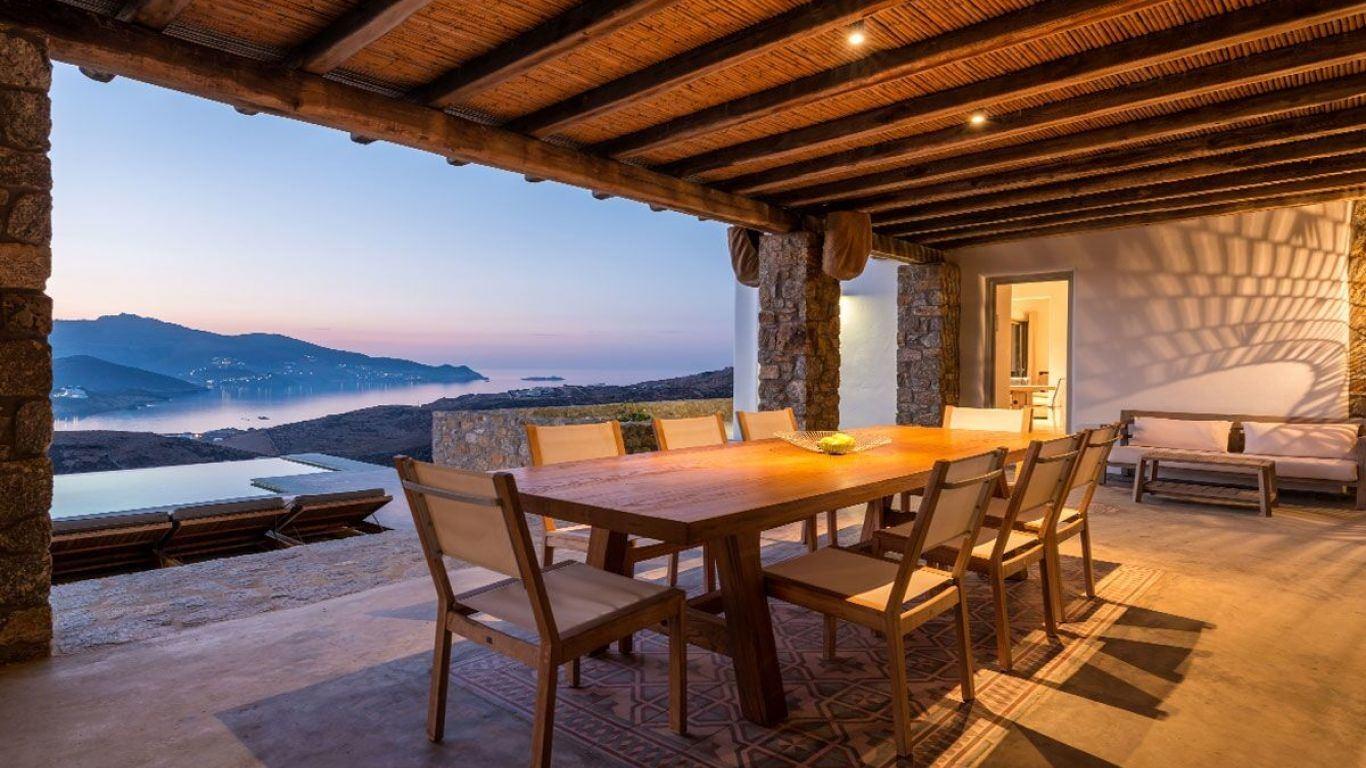 Villa Beverly, Ftelia Beach, Mykonos, Greece