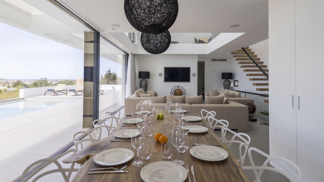 Villa Naomi, Playa d'en Bossa, Ibiza, Spain
