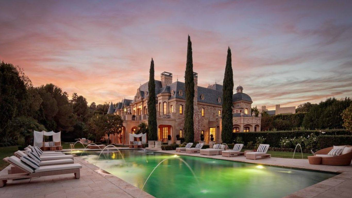 Villa Diana, Beverly Park, Los Angeles, USA