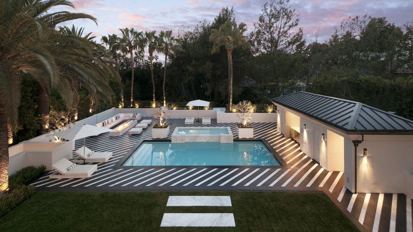 Villa Hera, Beverly Hills, Los Angeles, USA