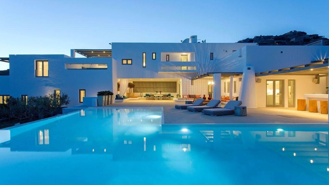Villa Viola, Kalafatis, Mykonos, Greece
