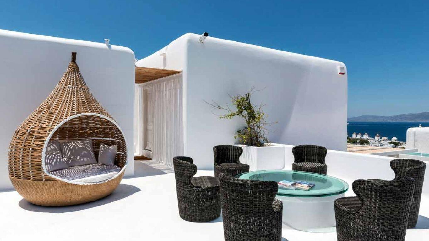 Villa Monica, Mykonos Town, Mykonos, Greece