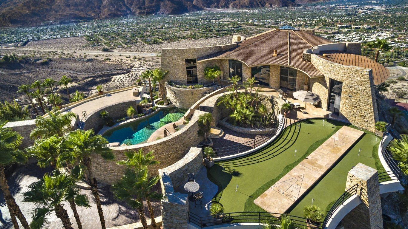 Villa Mariel, Palm Canyon, Palm Springs, USA