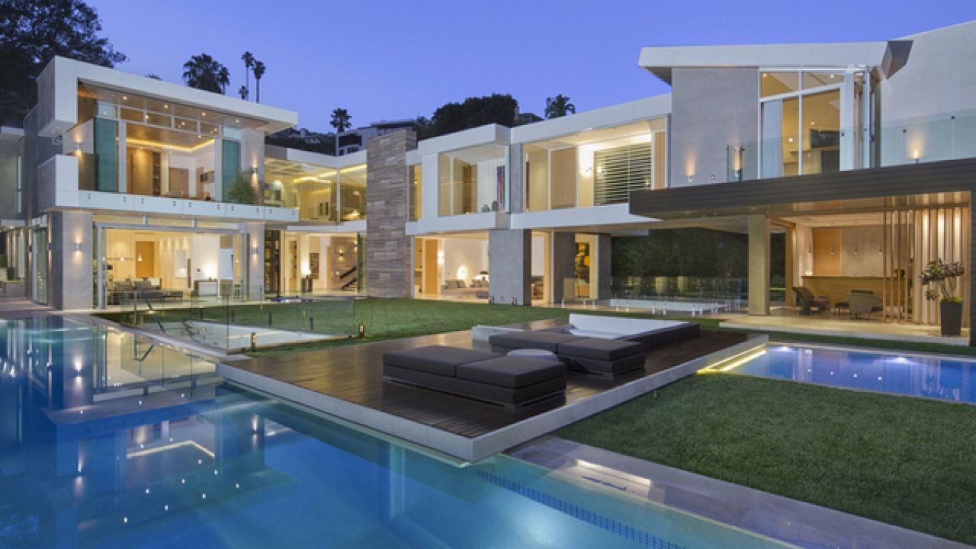 Villa Charlotte, Hollywood Hills, Los Angeles, USA
