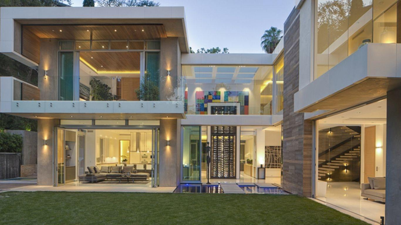 Villa Charlotte, Hollywood Hills, Los Angeles, USA