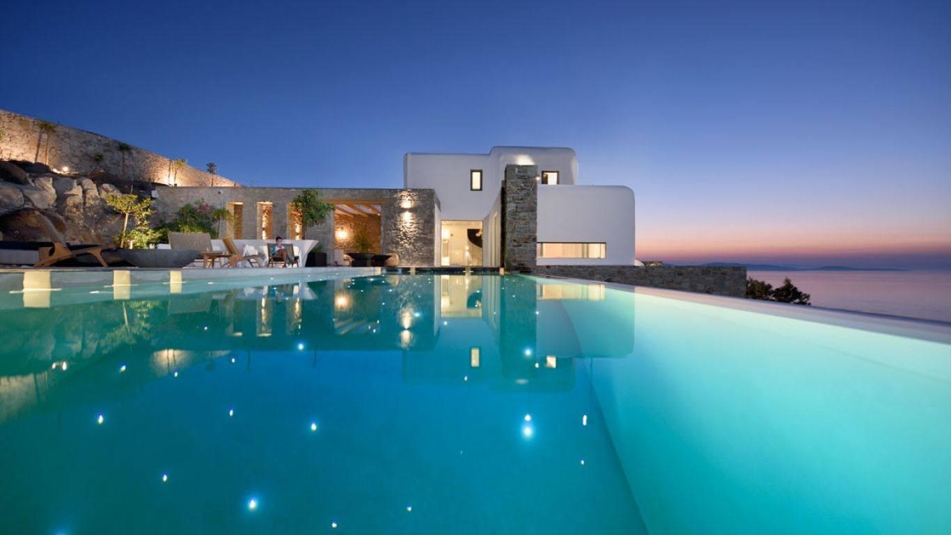 Villa Cleopatra, Aleomandra, Mykonos, Greece