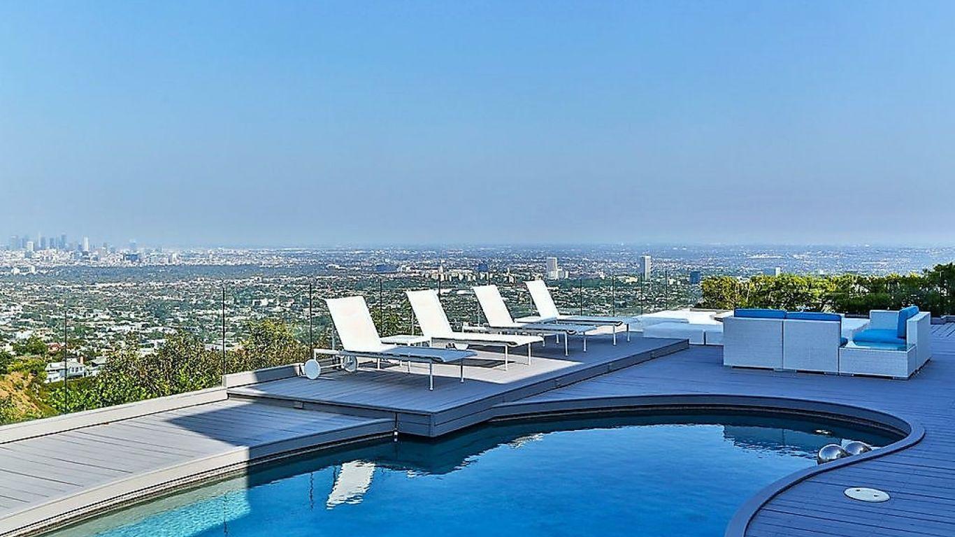 Villa Melody, Hollywood Hills, Los Angeles, USA