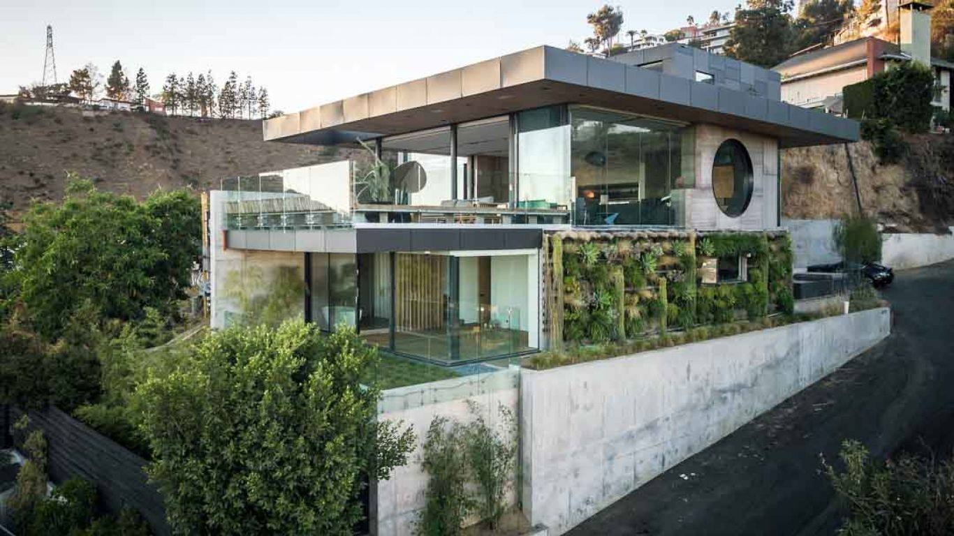 Villa Selena, Hollywood Hills, Los Angeles, USA