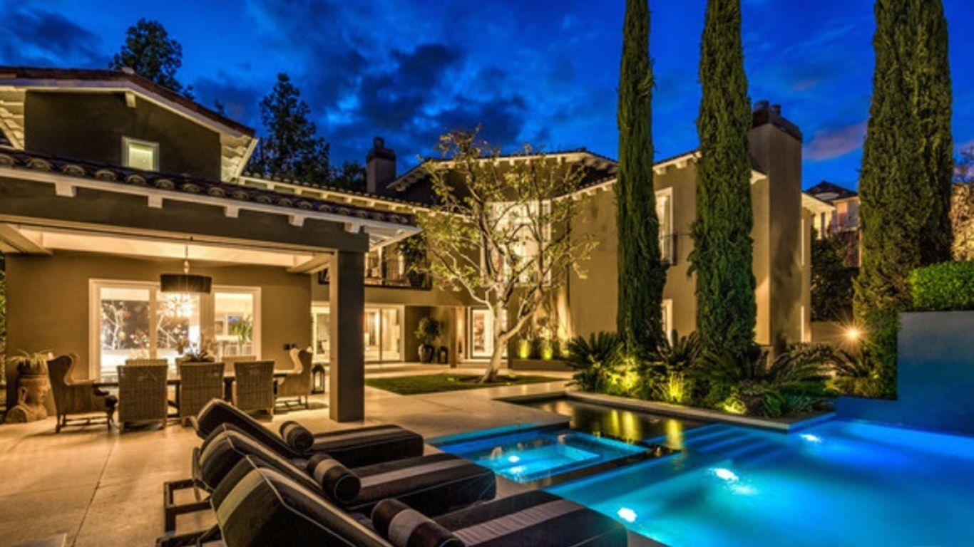 Villa Estelle, Hollywood Hills, Los Angeles, USA