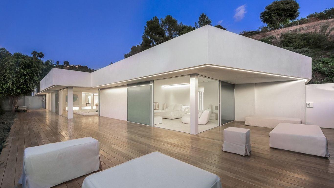 Villa Patricia, Beverly Hills, Los Angeles, USA