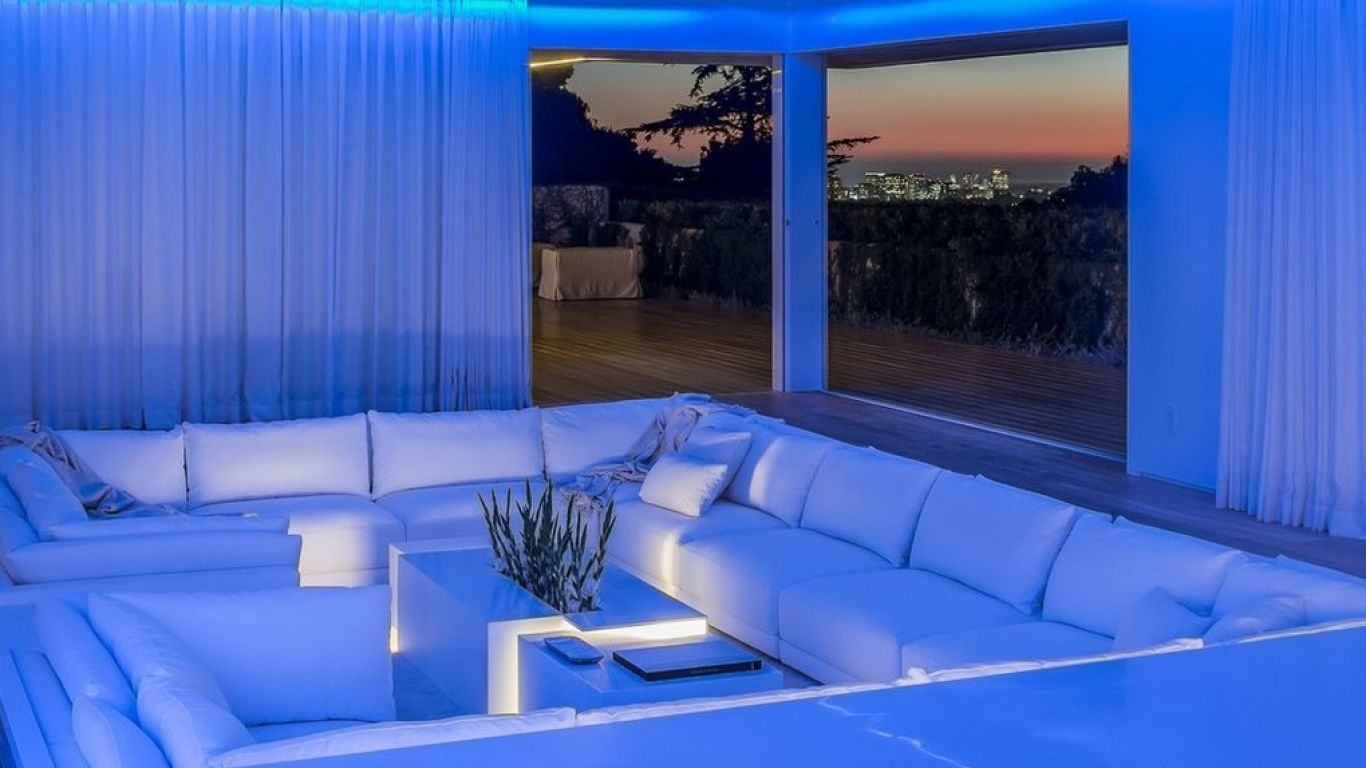 Villa Patricia, Beverly Hills, Los Angeles, USA