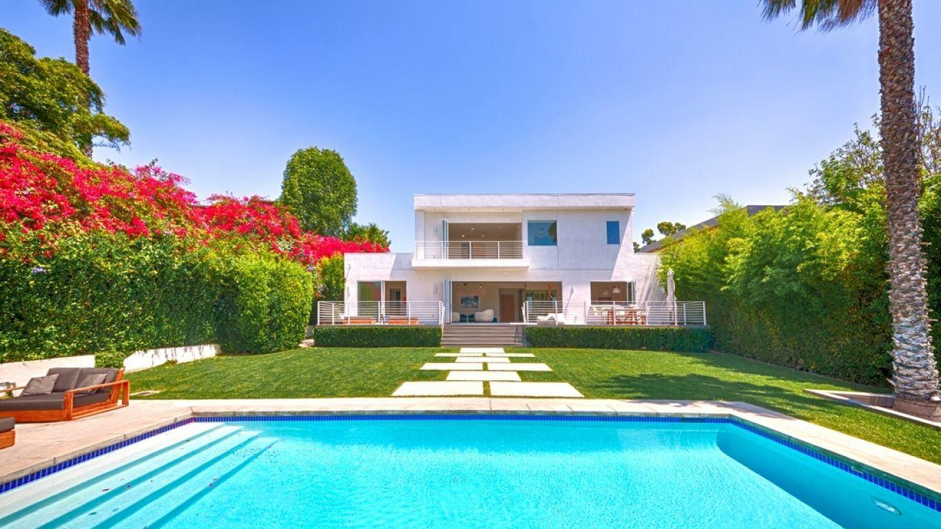 Villa Amarillo, Hollywood Hills, Los Angeles, USA