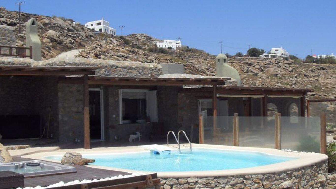 Villa Angelina, Super Paradise Beach, Mykonos, Greece