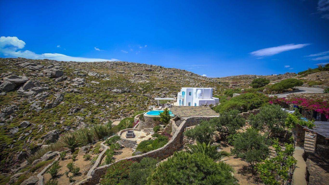 Villa Tanya, Agrari, Mykonos, Greece