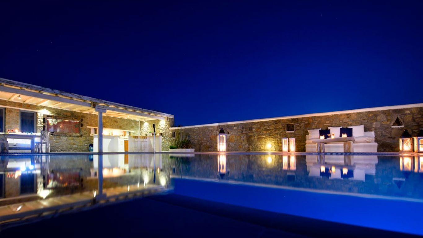 Villa Rosy, Super Paradise Beach, Mykonos, Greece