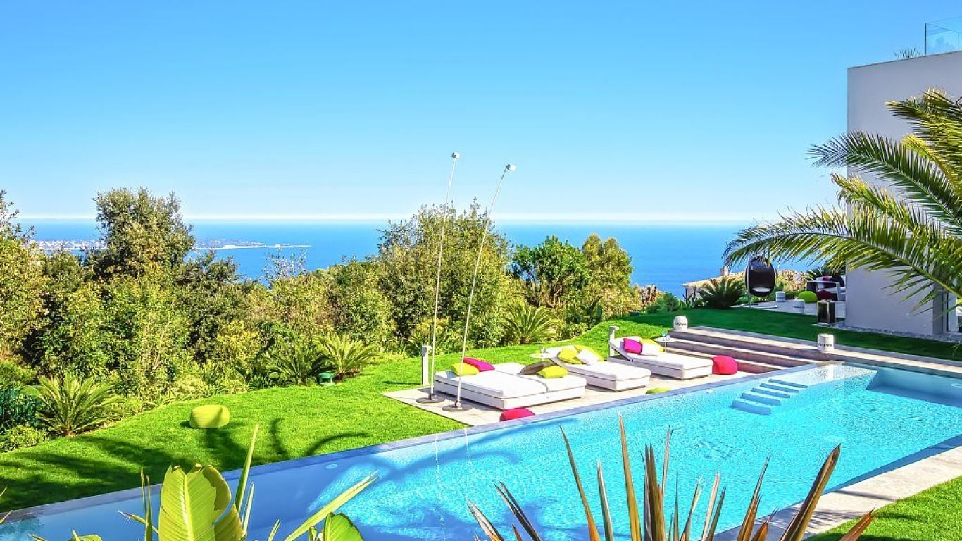Villa Serilda, Californie, Cannes, France