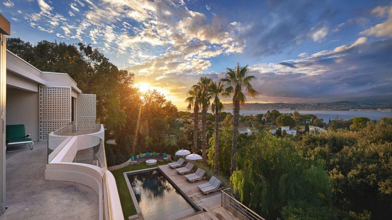 Villa Riana, Antibes, Cannes, France