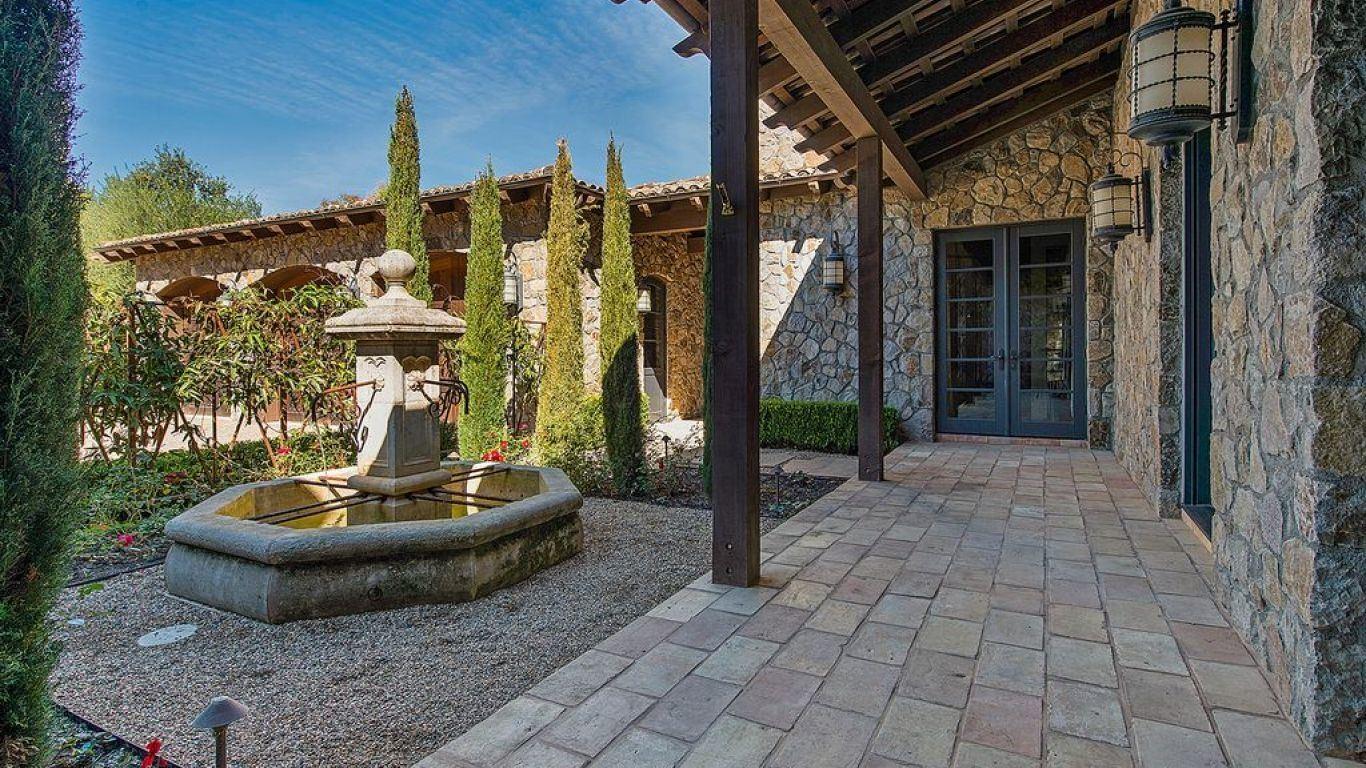 Villa Jennifer, St. Helena, Napa Sonoma, USA