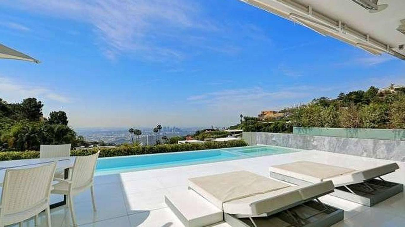Villa Luna, Hollywood Hills, Los Angeles, USA