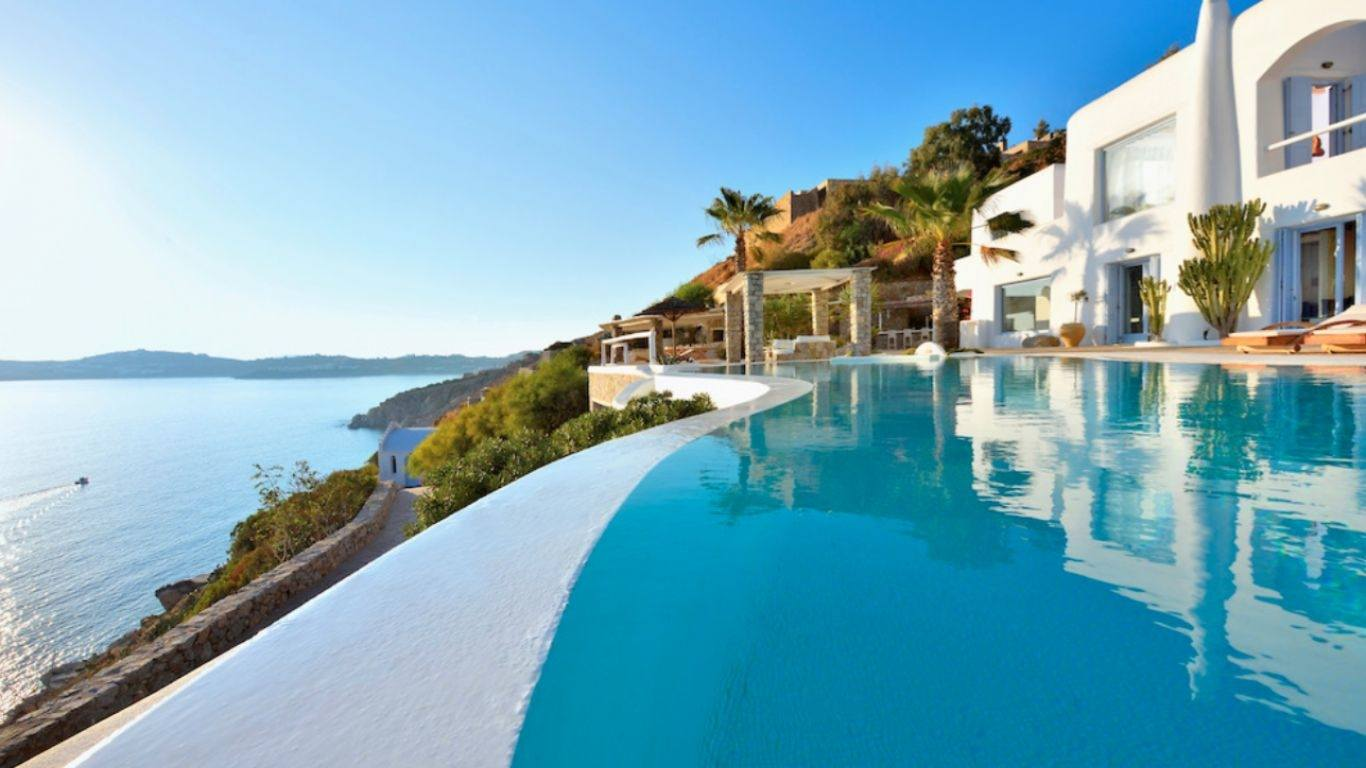 Villa Selena, Agios Lazaros, Mykonos, Greece