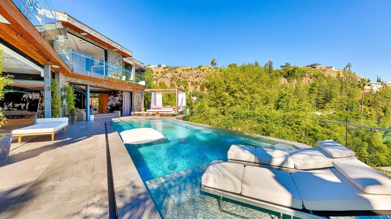 Villa Vita, West Hollywood, Los Angeles, USA