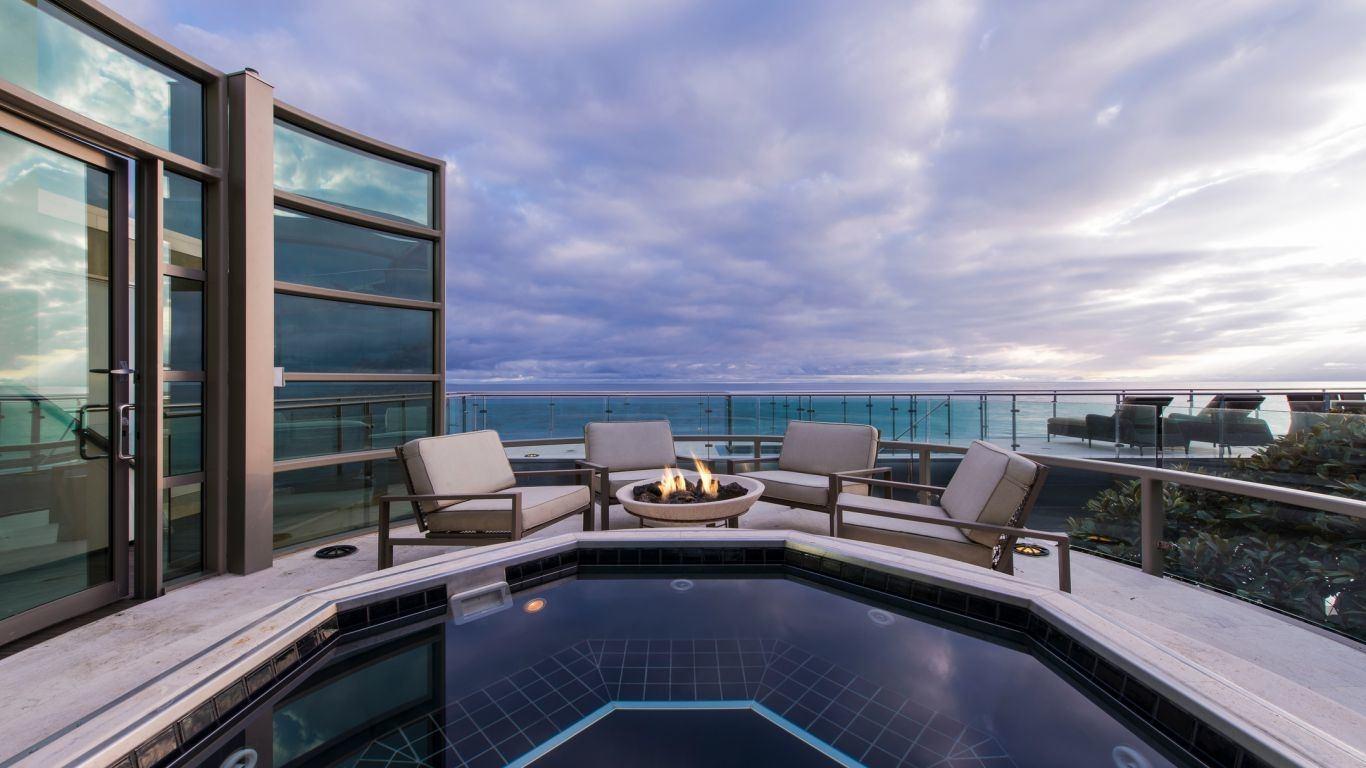 Villa Antoinette, Malibu, Los Angeles, USA