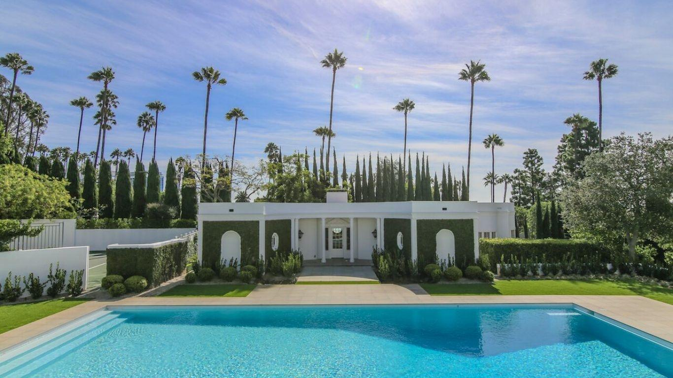 Villa Evangelina, Beverly Hills, Los Angeles, USA