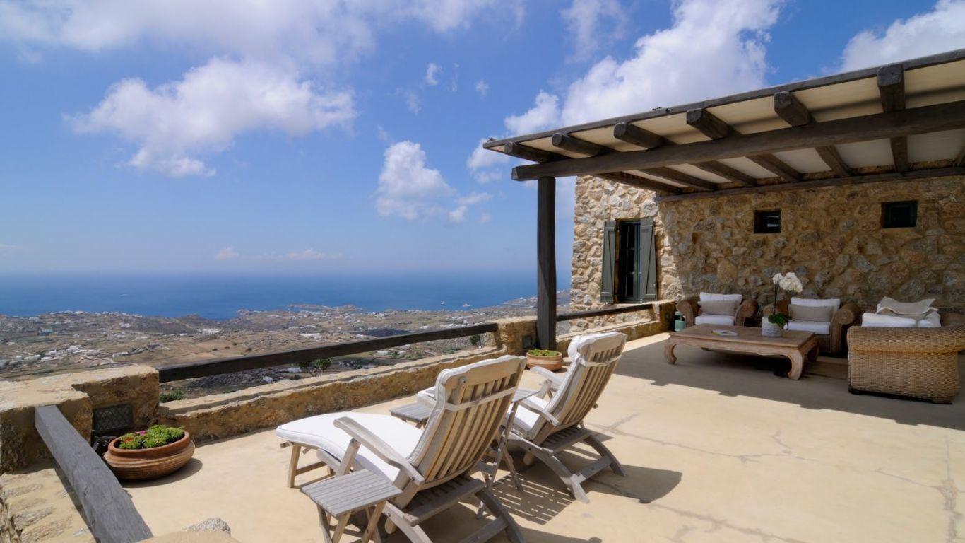 Villa Inga, Kounoupas, Mykonos, Greece