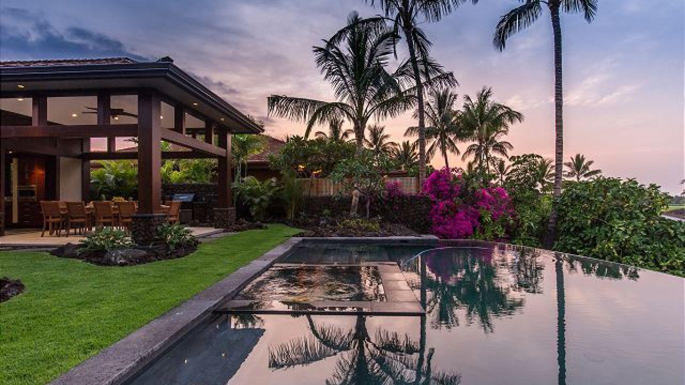 Villa Marilyn, Kona Coast, Big Island, USA